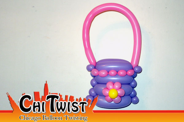 Flower Purse Balloon