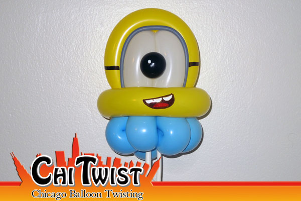 Minion Bracelet Balloon