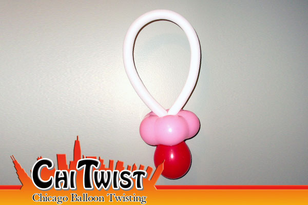 Pacifier Balloon