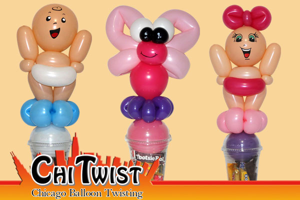 Baby Candy Cup Balloons