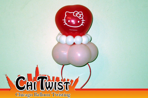 Hello Kitty Hairband Balloon