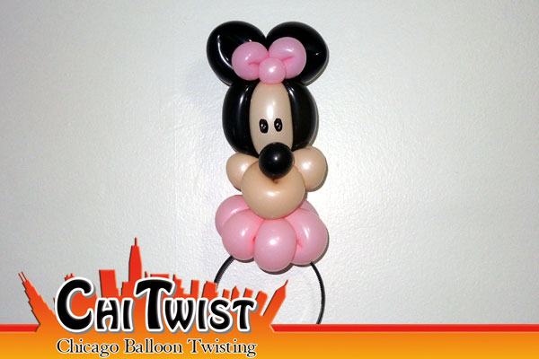 Minnie Hairband Balloon