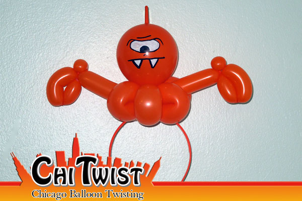 Monster Hairband Balloon
