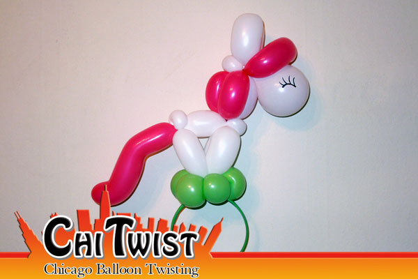 Pony Hairband Balloon