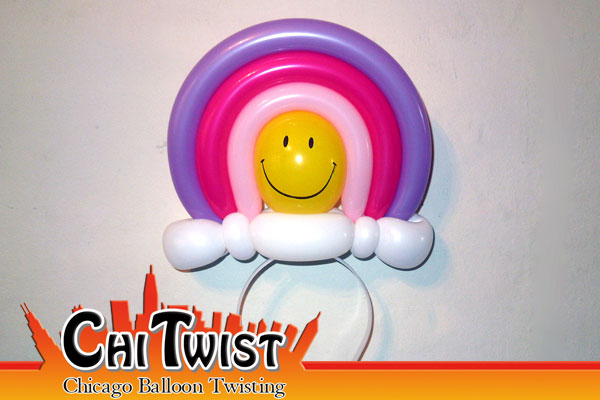 Rainbow Hairband Balloon