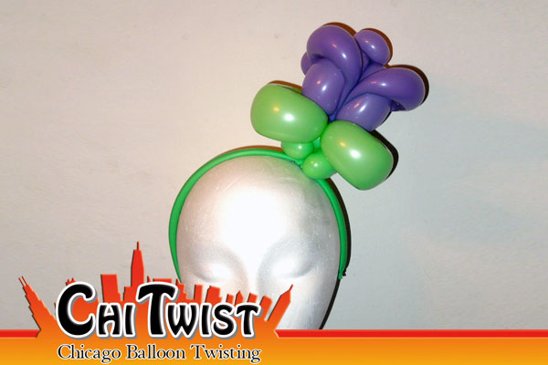 Rose Hairband Balloon