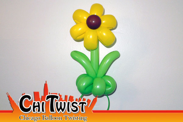 Sunflower Hairband Balloon
