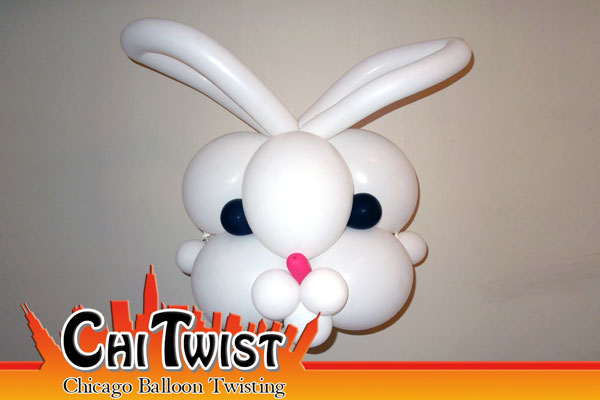 Bunny Mask Easter Balloon