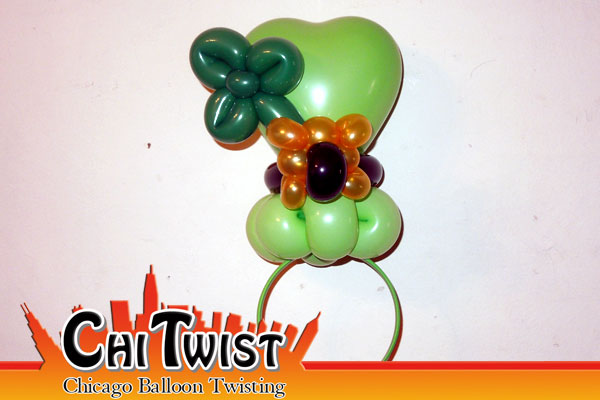 Shamrock Hairband St. Patrick's Day Balloon